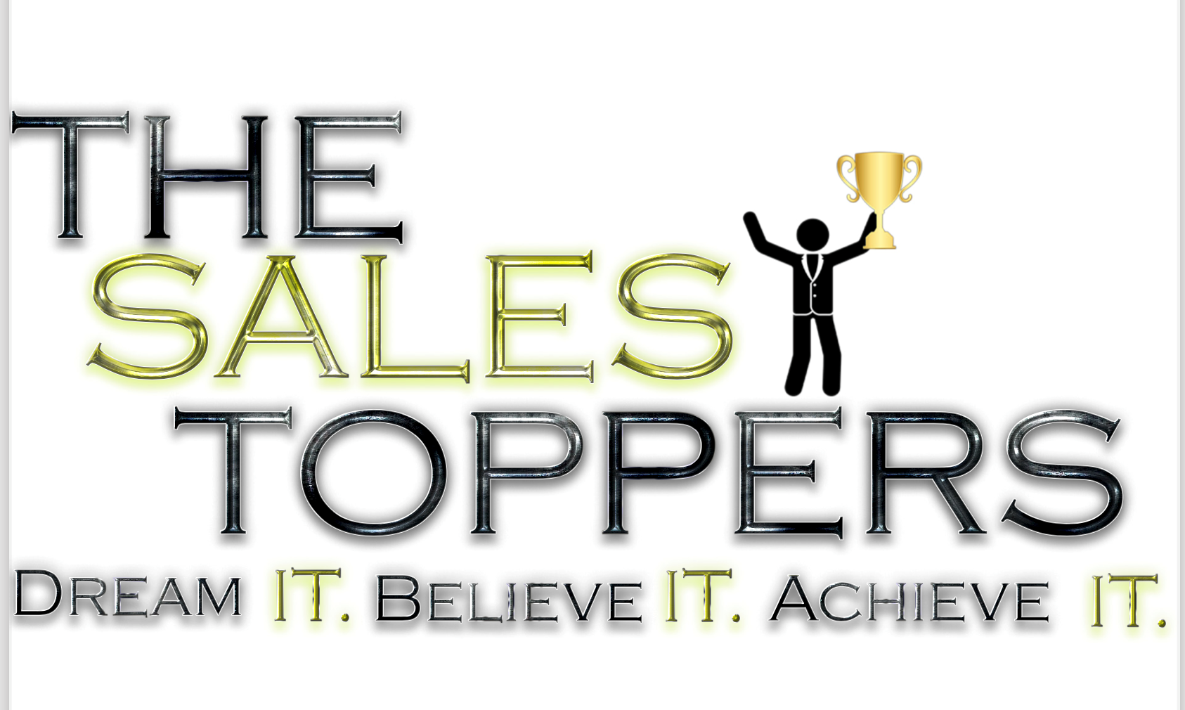 The sales toppers logo